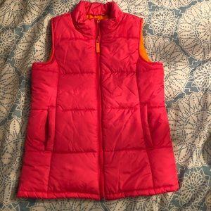 Girls Lands End puffer vest